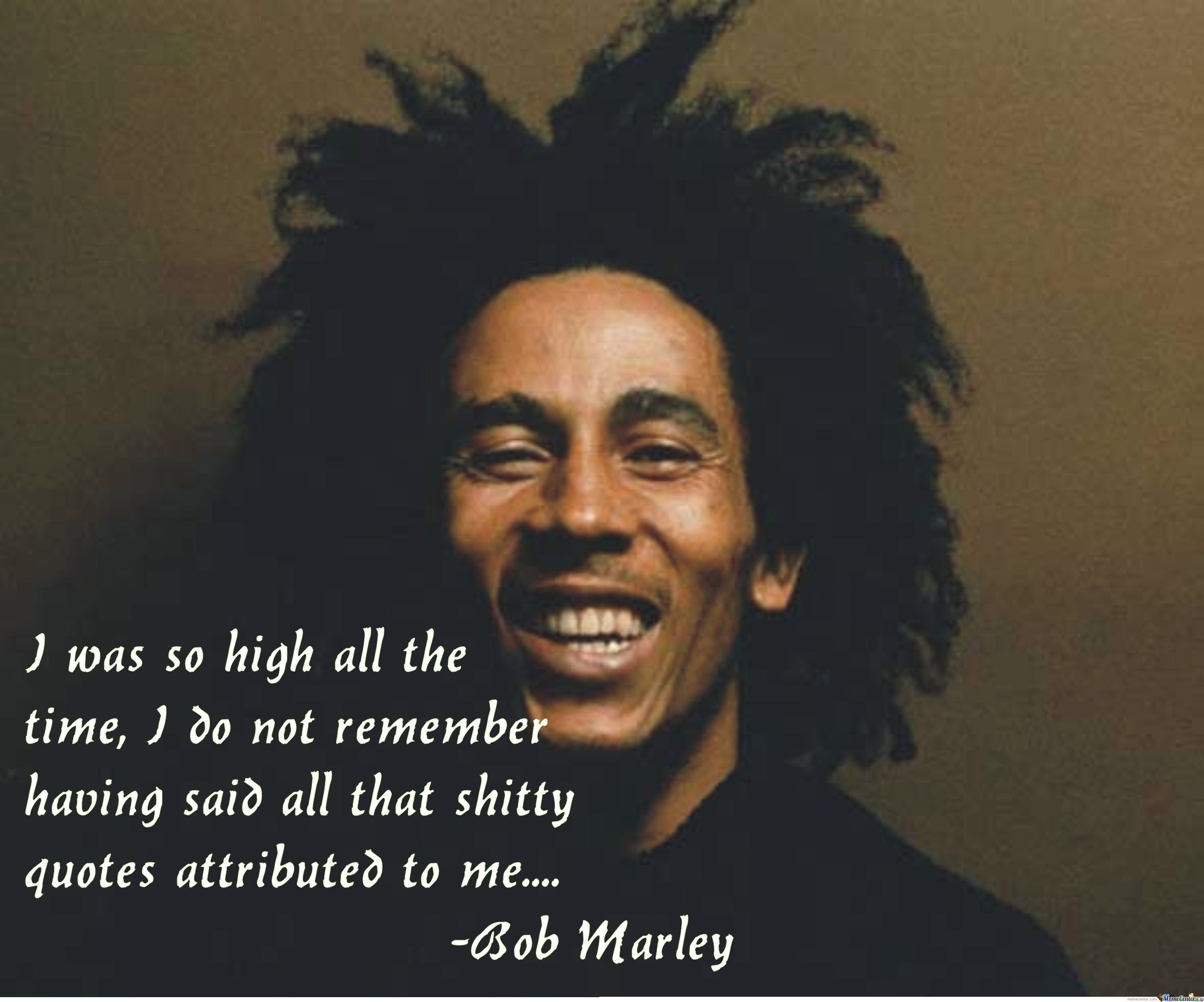 Funny Getting High Quotes: Bob Marley Birthday Quotes. QuotesGram